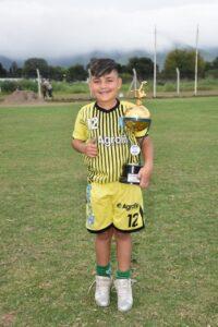 JEREMIAS SILVA Arquero de Deportivo Halcones Sáenz Peña
